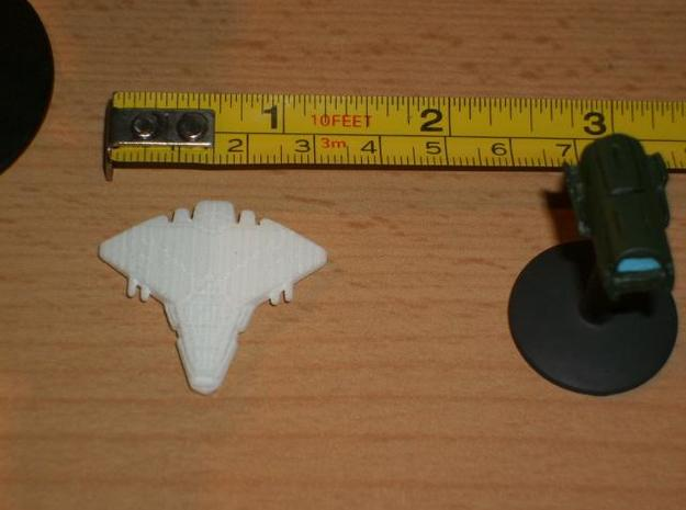 Ancient Heavy Fighter 3d printed printed miniature