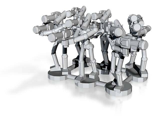 MG144-Aotrs07 War Droid Squad 3d printed