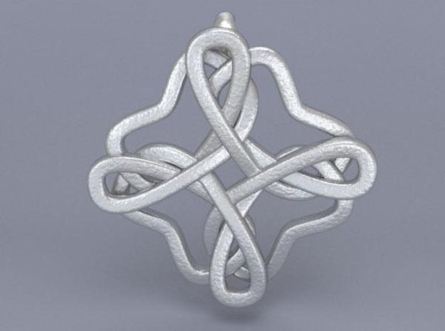 Friendship knot 3d printed Front render