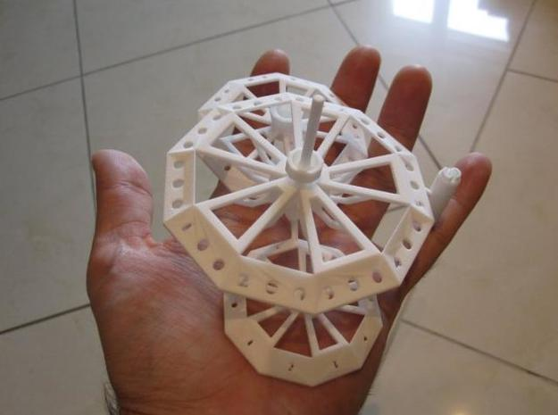 ''d1000 Spinner'' Limited Collectors Edition 3d printed Prototype2