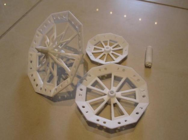 ''d1000 Spinner'' Limited Collectors Edition 3d printed Prototype 3
