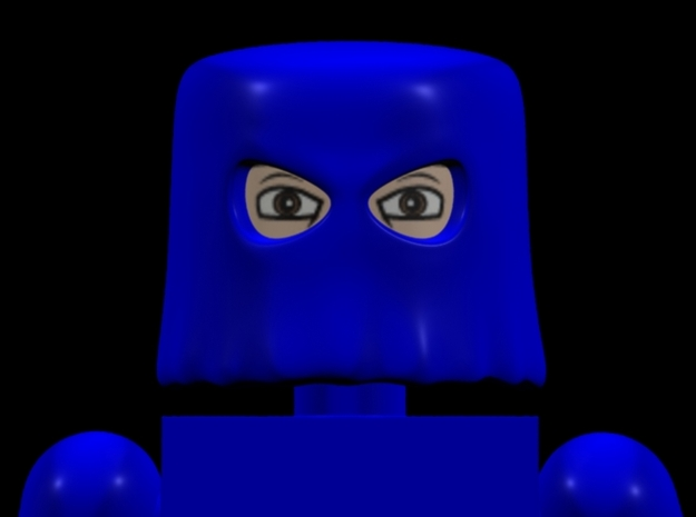 Cobra Commander Headwear For Minimates 3d printed