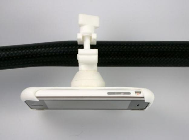 iPhone 3G / 3GS bike mount 3d printed Description