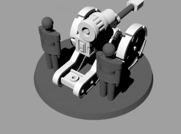 W4K10 MK4 Gun Kit 3d printed Autocannon Rear