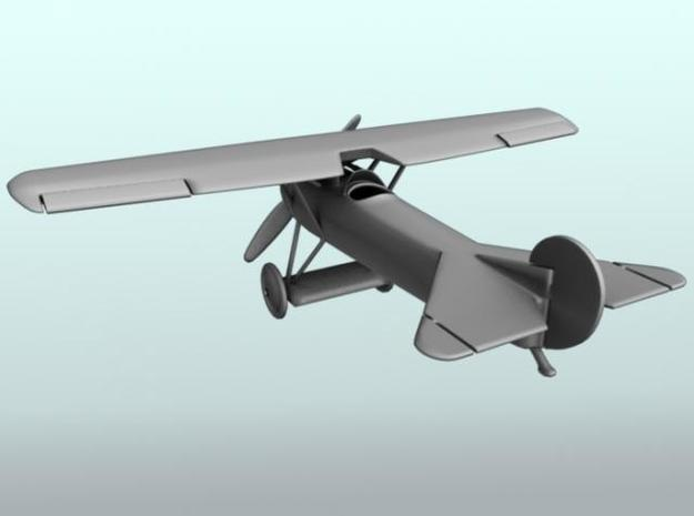 Fokker Dviii 3d printed Back view render.