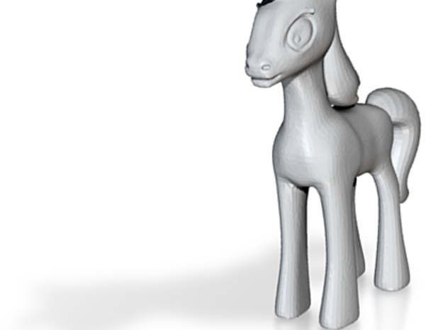 Cartoon Pony Little 3d printed