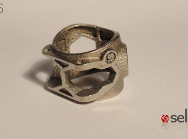 1086 ToolRing - size 12 (21,40mm) 3d printed 1086 ToolRing - Primal Finish C