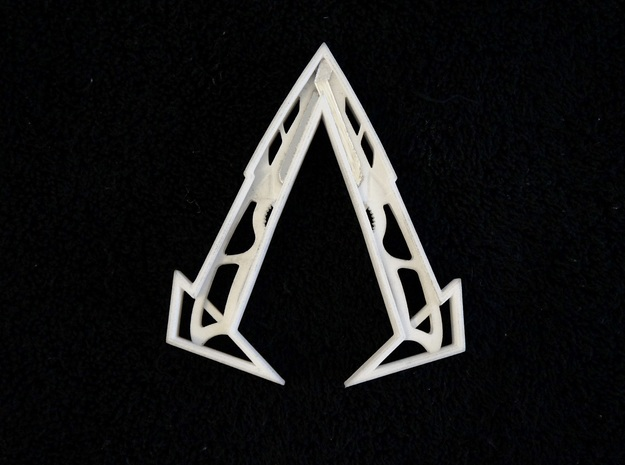 "Ammnra ""A"" Hidden Symbol/Belt Buckle 3d printed See Video"