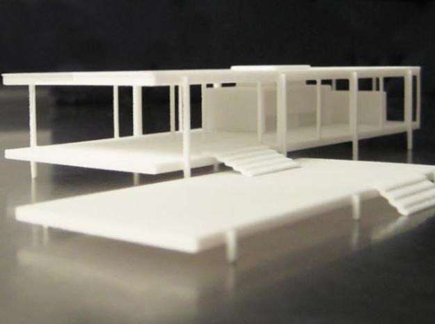 Modernist House 3d printed Less is More