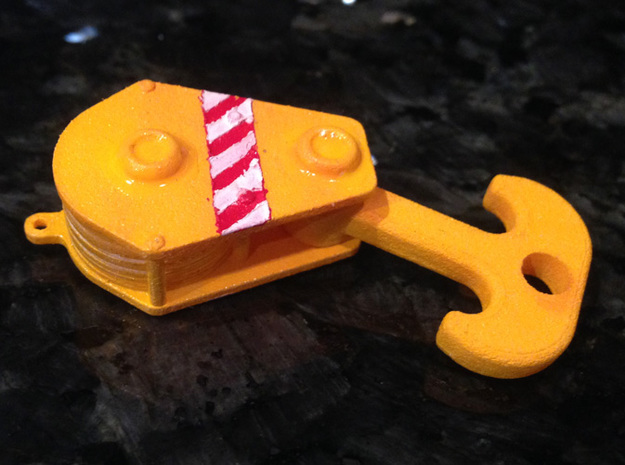 160 Ton Load Block (1 To 50 Scale) 3d printed Add a caption...