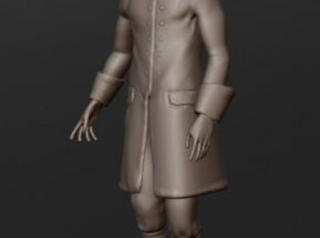 XVIII century French navy officer 3d printed Base model