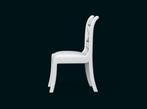 1:10 Scale Model - Chair 02 3d printed
