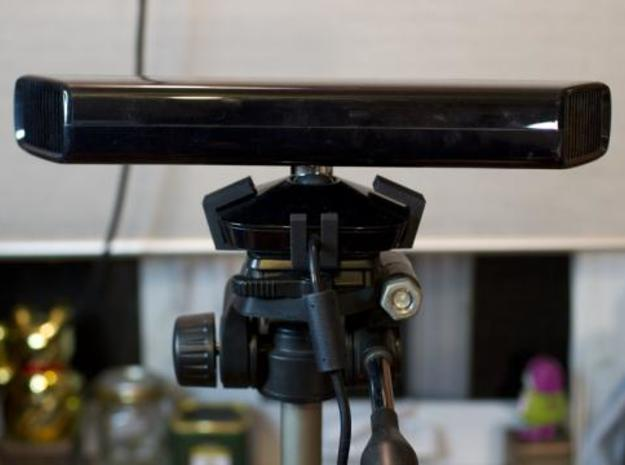 Kinect Tripod Mount 3d printed rear view