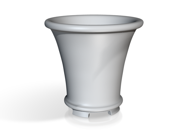 Round Bonsai-Style Shot Glass 3d printed 3d rendering