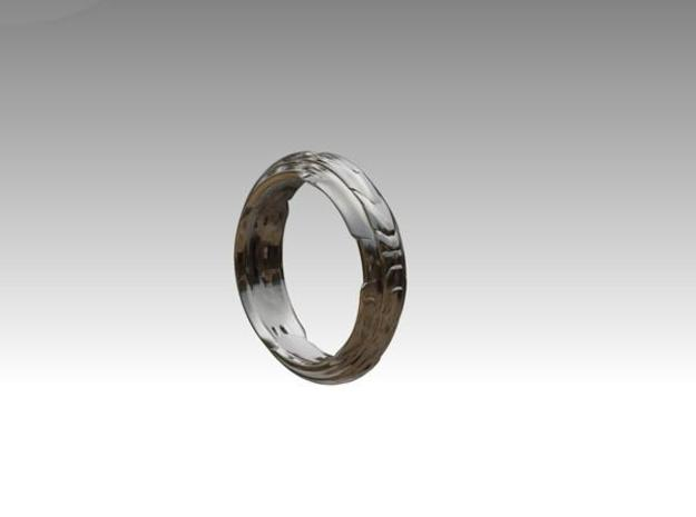 Modern Ring 3d printed Description