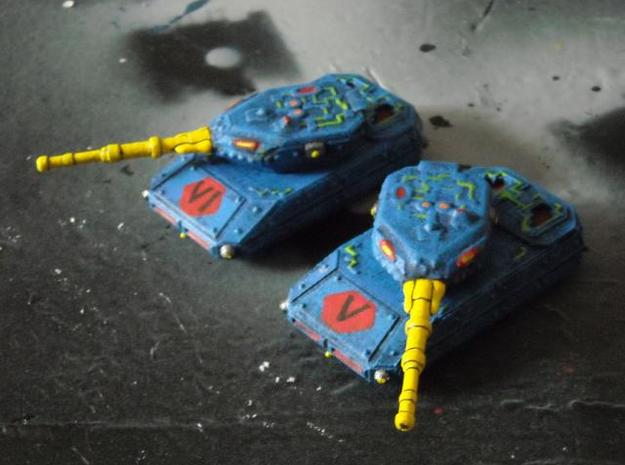 MG144-CT001A Resister I Grav Tank (2) 3d printed Painted model