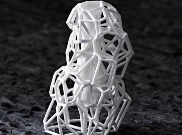 Voronoi Vase 3d printed Description