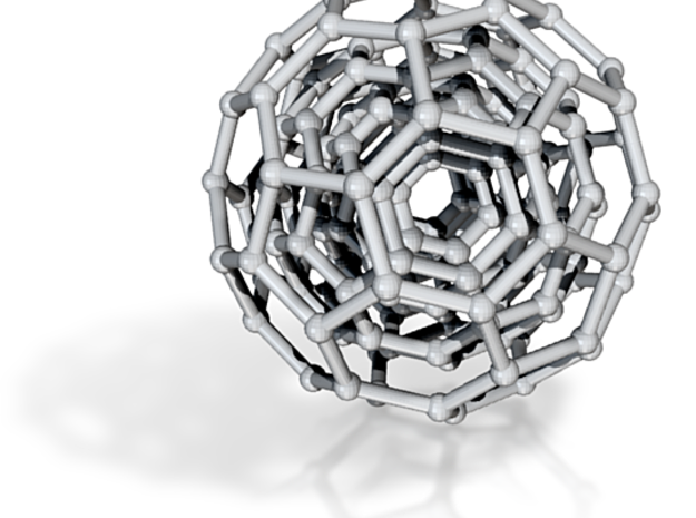 Three BuckyBalls 3d printed