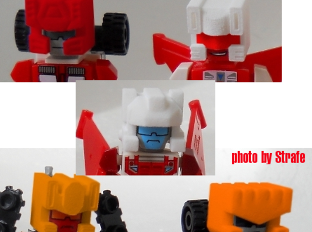T-bots Robo Helmet Upgrade Set