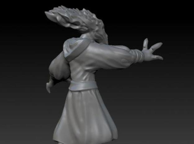 Bird Alien Monk 3d printed Side View