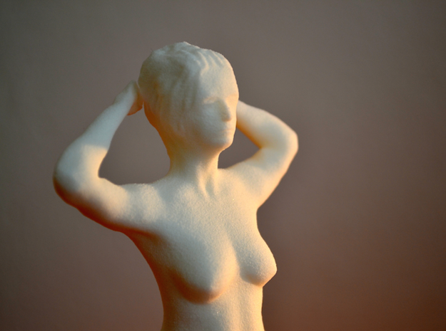Model Helene 3d printed Photo 3D printed Model