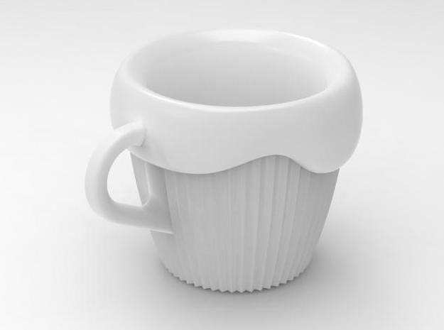one cup a day   Day 08: CupCake Cup 3d printed cupcakecup