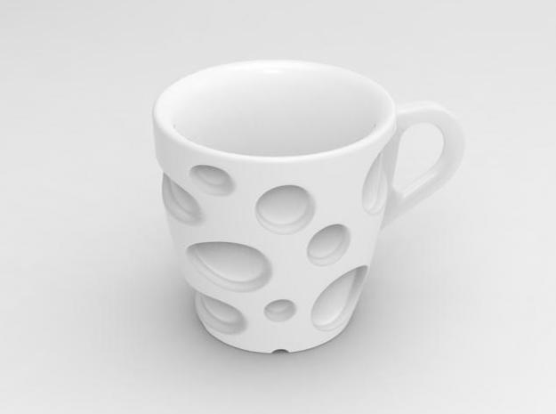 one cup a day | Day 18: Emmental Cup 3d printed cheesy cup