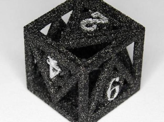 Deathly Hallows d6 3d printed Alumide