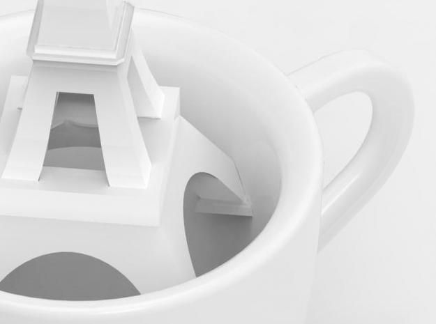 one cup a day | Day 29: French Coffee Cup 3d printed detail