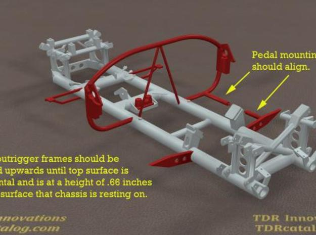 TDR 427 Roadster Frame Kit 3d printed Description