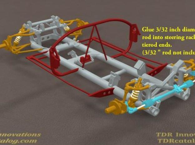 TDR 427 Roadster Front Hardware Kit 3d printed Description