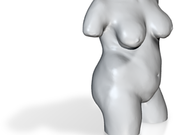 Torso Model Astrid 3d printed Rendered
