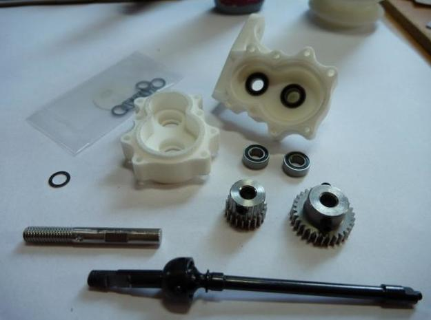 4 Portalachsen / Portal Axles v1.0 for Losi MRC 3d printed This is what you need