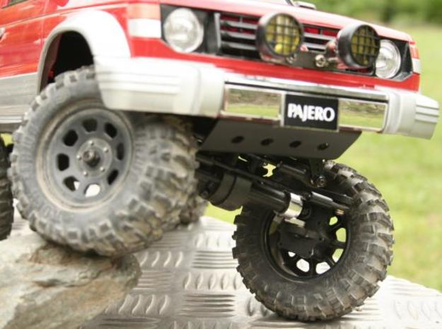 4 Portalachsen / Portal Axles v1.0 for Losi MRC 3d printed LOSI Mini Rock Crawler with Tamiya Pajero body