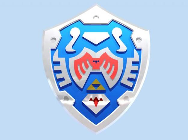 Hero's Shield I 3d printed Render