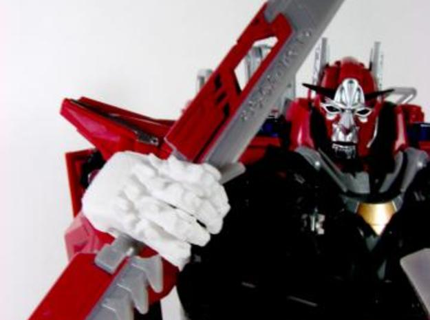 DOTM Leader Sentinel Prime hands (movie acc.) 3d printed weapon.