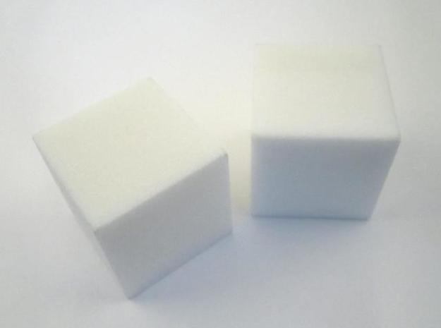 Density Test 3d printed In White Strong and Flexible