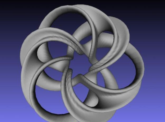 Scherk Minimal Surface Toroid 3d printed Description