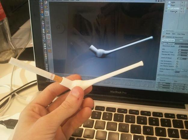 Cigarette holder 3d printed It works!