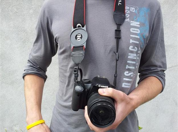 Lens Cap Holder (67mm) 3d printed Description