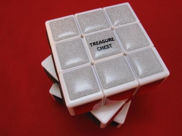 Personalize your Treasure Chest 3d printed Treasure Chest