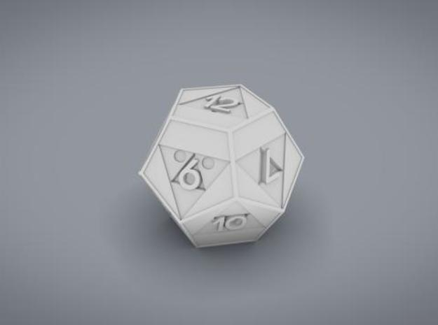 Triforce D12 3d printed