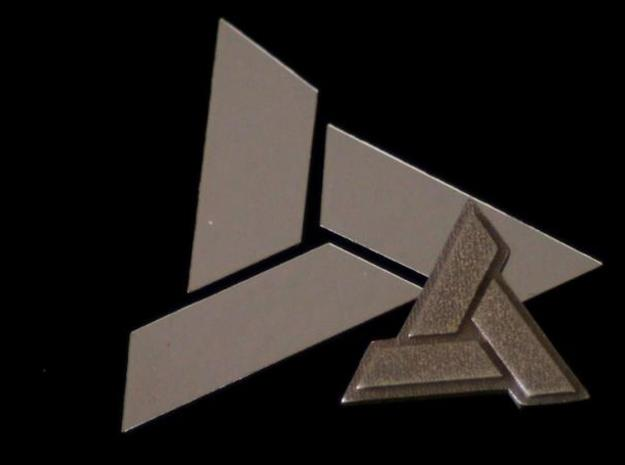 AC:Abstergo Pendant 3d printed