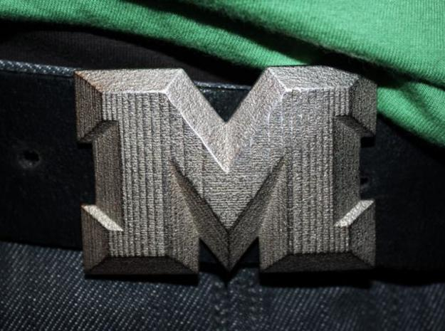 Buckle M 3d printed Stainless Steel