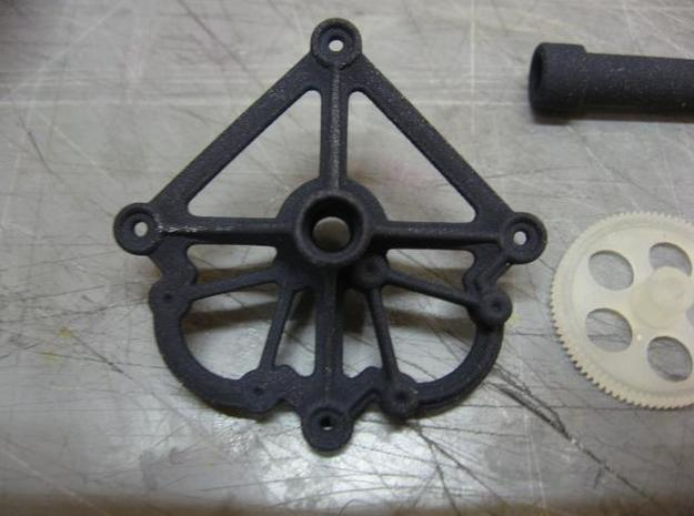 F3P Dual motor contra - Main gearbox frame 3d printed