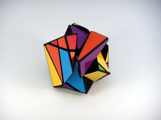 Insanity Cubed Puzzle 3d printed Scrambled & Shape Shifted