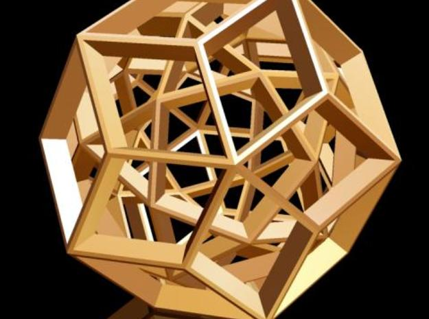 Duality of Polyhedra No.1 3d printed