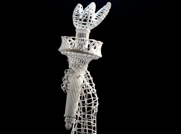 Torch of Liberty 3d printed