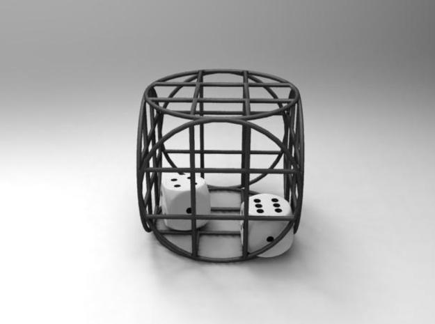 dice-cage! 3d printed