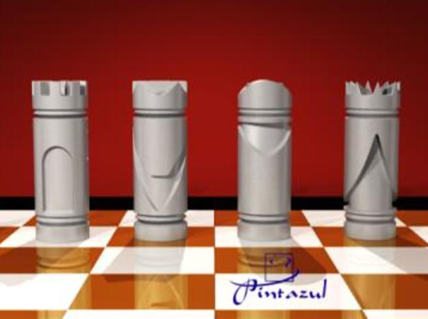 CHESS ITEM PEÃO / PAWN 3d printed